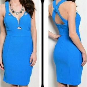 NWOT Nikibiki Blue dress size M